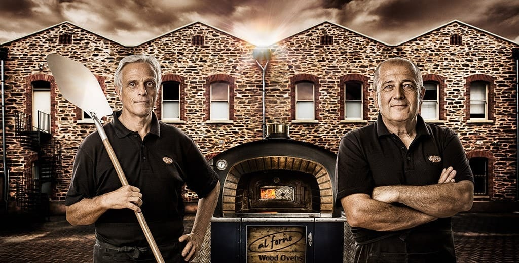 Al Forno Wood Fired Ovens Advertising