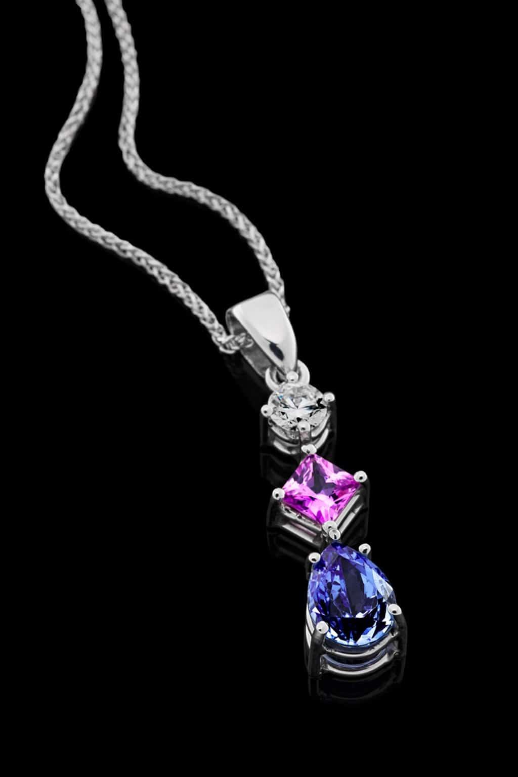 Pink Carat Handmade Necklace
