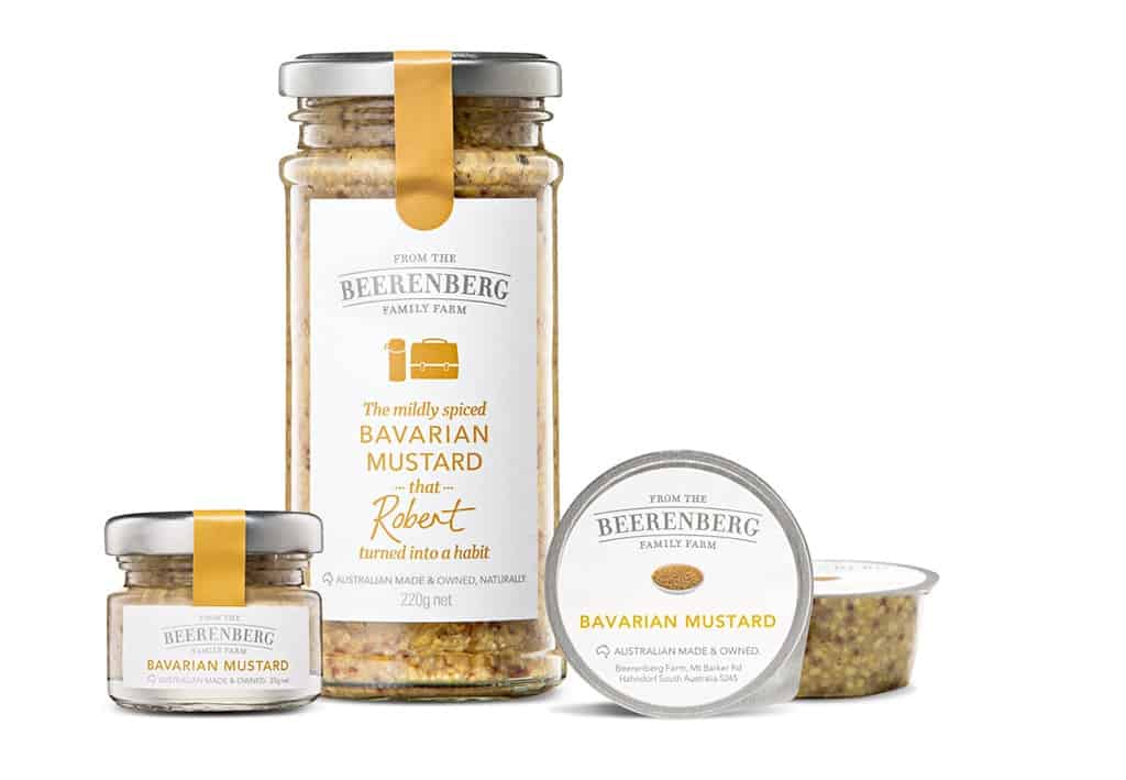 Beerenberg Bavarian Mustard Product Group