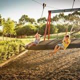 Bonython Park Adelaide Playground Dual Flying Fox