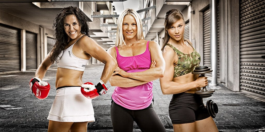 Boxing Alley Personal Training Girls