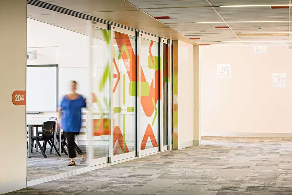 Cornerstone College AA Windows Aluminium Sliding Doors