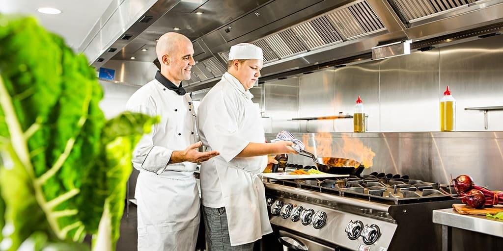 Hospitality Group Training Skills Centre Kitchen