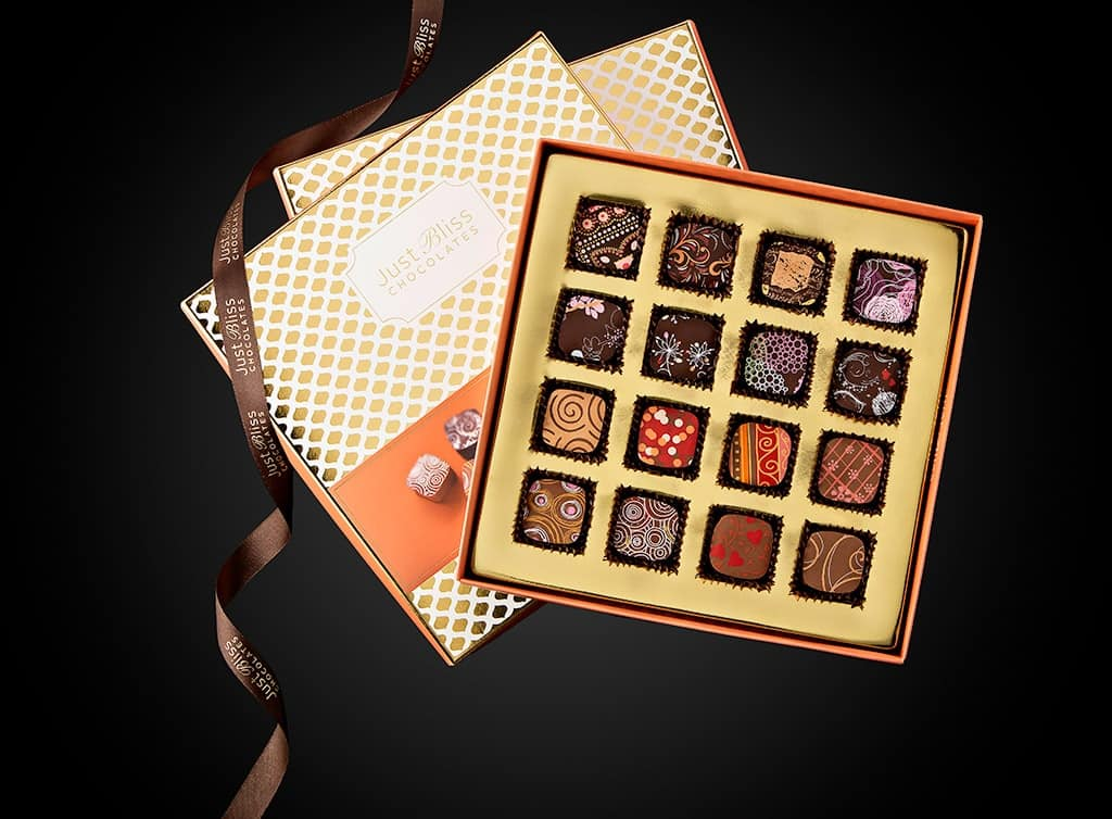 Just Bliss Chocolates Handcrafted Couture Collection