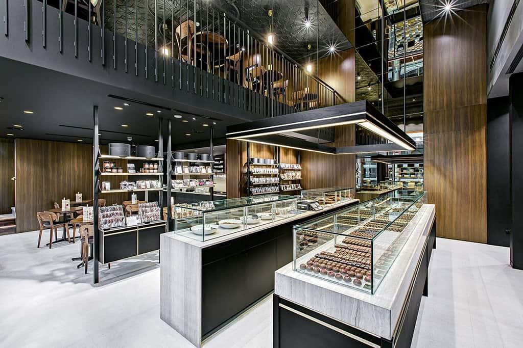 Koko Black Chocolate Salon Rundle Mall Adelaide Front Counter