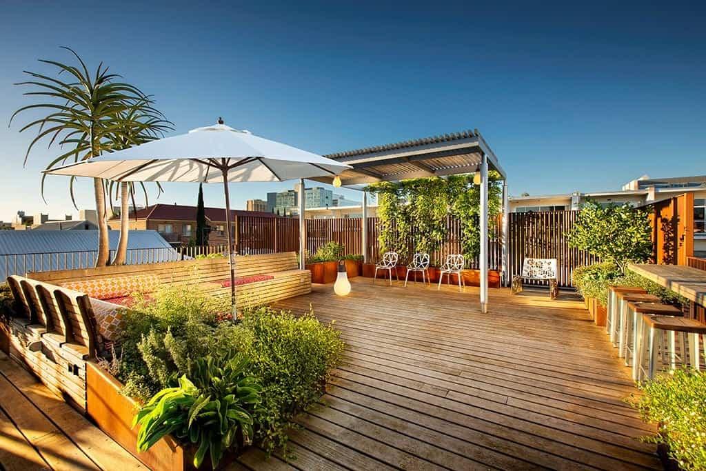 Oxigen Landscape Architects Roof Top Garden