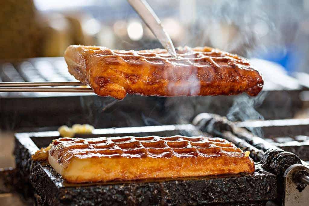 Waffle King South Australia Freshly Cooked Waffles