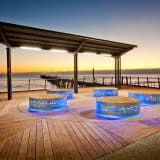 Port Noarlunga Foreshore Illuminated Seating