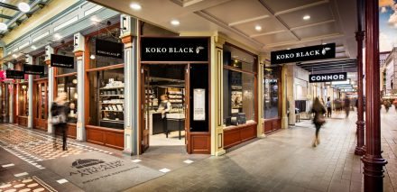 Koko Black Chocolate Salon Exterior Rundle Mall Adelaide