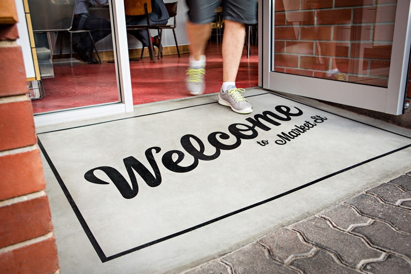 Market Street Adelaide Entry Welcome