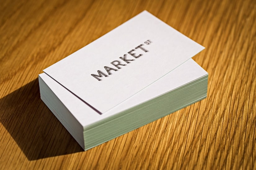 Market Street Adelaide Business Cards