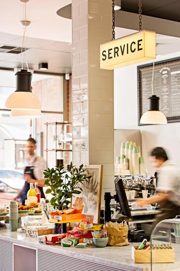 Market Street Adelaide Service Counter