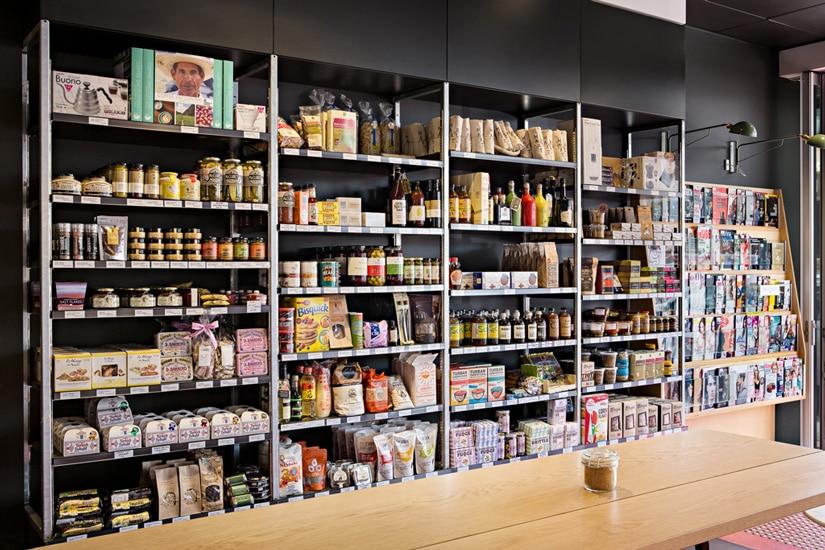 Market Street Adelaide Product Shelving