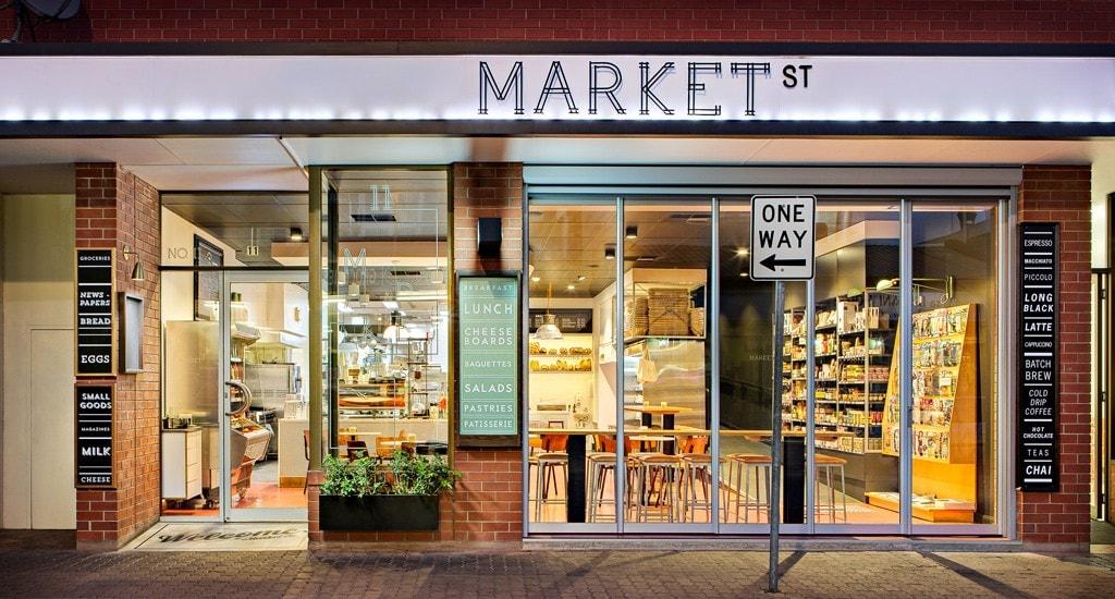 Market Street Adelaide Exterior Dusk