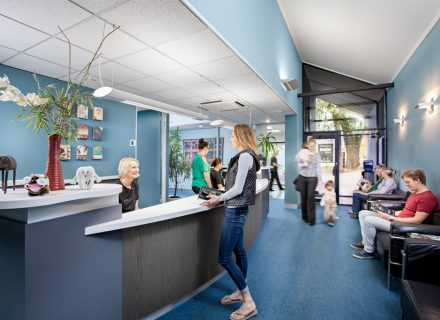 Shepherds Hill Dental Reception