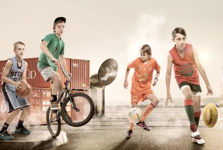 Kids Loving Sports Commercial Photography Adelaide