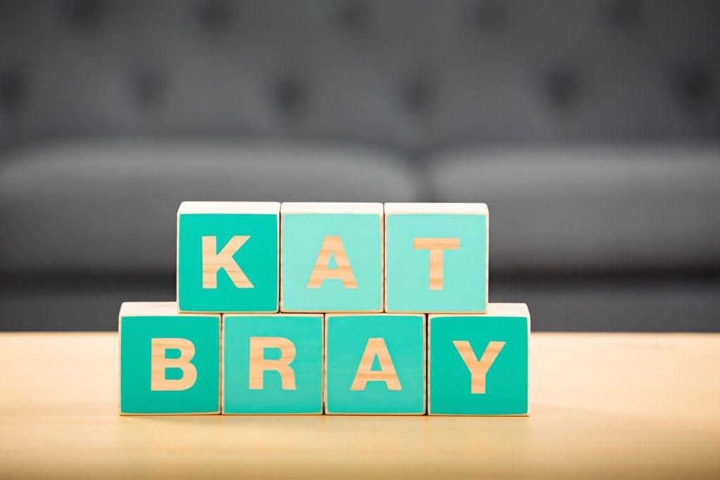 Kat Bray Logo Blocks Commercial Photographer Adelaide