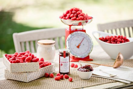 Beerenberg Styled Raspberry Jam Commercial Photography Adelaide