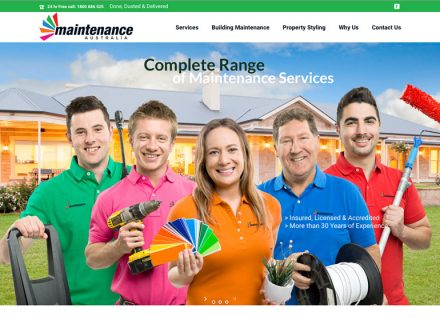 Maintenance Australia Building Services Commercial Photography Adelaide