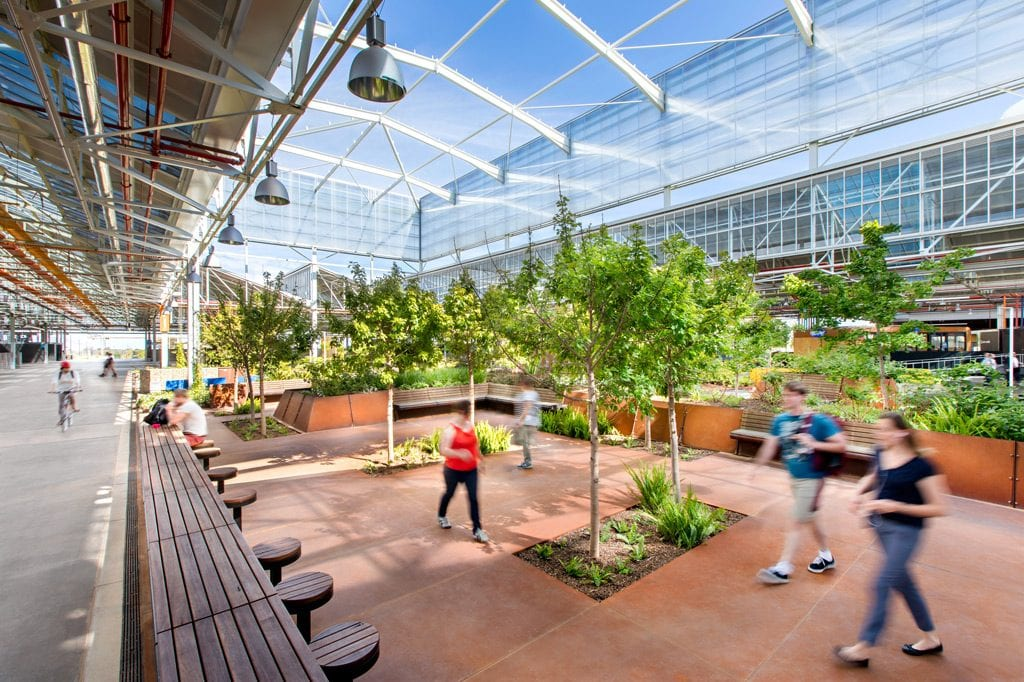 Tonsley Innovation District Garden Hero Commercial Photographer Adelaide