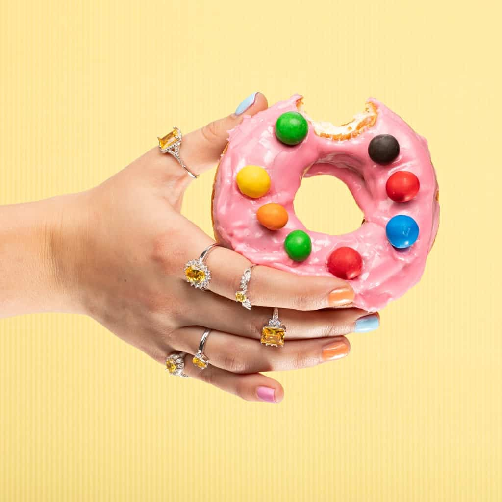 Jewellery and Donut Commercial Photographer Adelaide