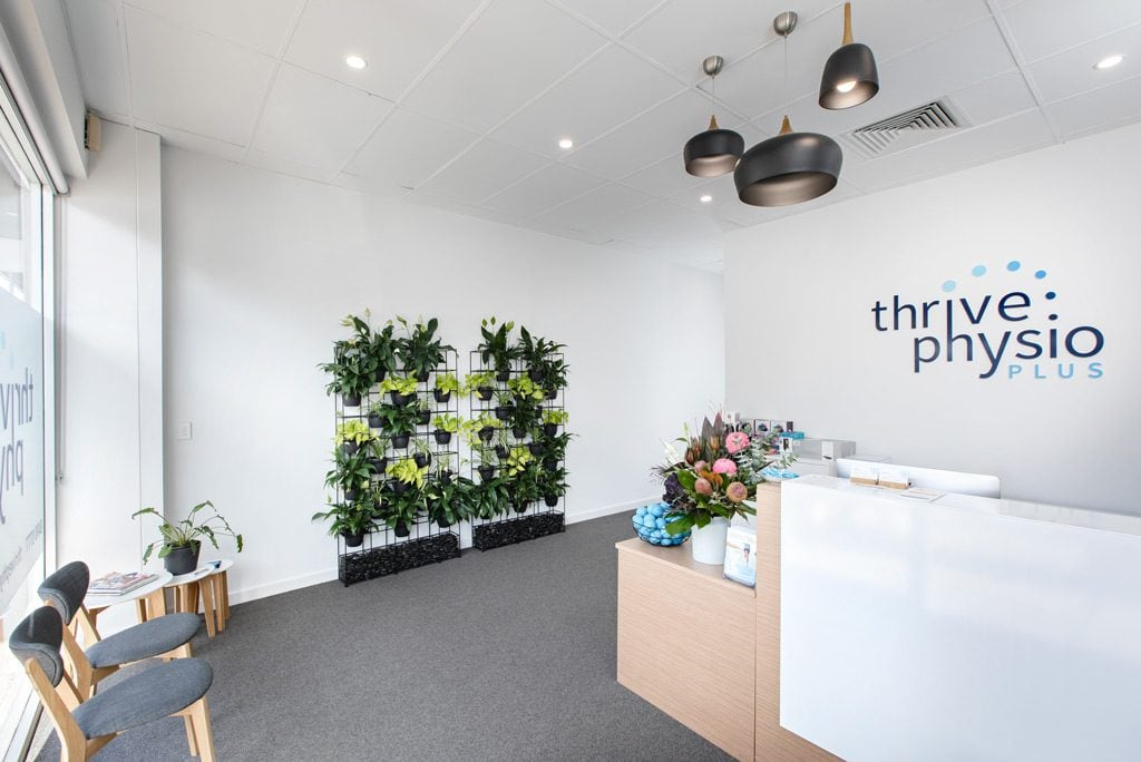 Thrive Physio Reception Corporate Photographer