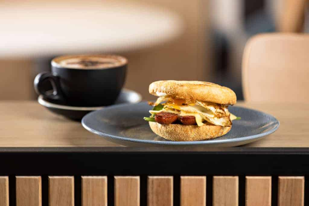 Adelaide Airport Breakfast Muffin Commercial Photographer