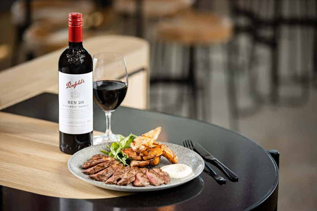 Black Angus Porterhouse Penfolds Commercial Photographer
