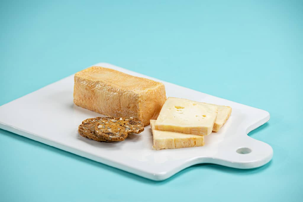 Cheese Board Blue Background Commercial Photographer