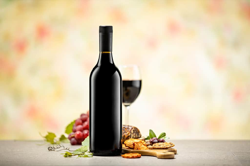 Cospak Wine Bottle Styled Advertising Photographer