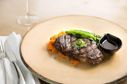 Rockford Hotel Steak Commercial Photographer