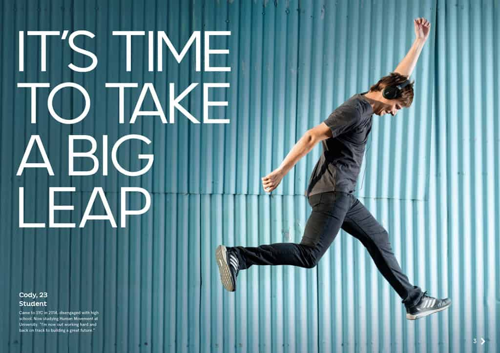 SYC Big Leap Advertising Photographer