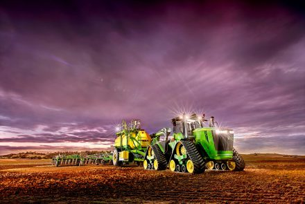 Farm Machinery Advertising Photo