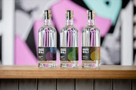 Little Bang Gin Product Photography
